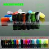 Factory price Silicone drip tip Mouthpiece Cover Test Tips Individually Package food grade disposable drip tips for ecig test