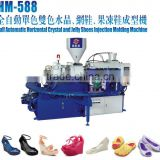 dongguan\la fabrication de sandales machine\plastic granules\sandalias pvc jelly machine\jelly sandals machine