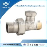 Brass forged radiator valve