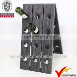 Base Folding Vintage Wooden Wine Display Stand