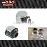Universal Car Air Intakes 35MM 76*76*80 Valve Cover Breather with Shield Crankcase Vent Filter