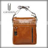 Custom made new mdel 2015 best brand leather art briefcase