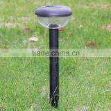 Black Top New Style Solar Post Garden light / Lawn Lamp / High quality garden / lawn