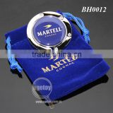 Velvet Bag Packing Round Foldable Customized Promotional Metal Table Purse Hook