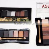 6 Colors Makeup Eyeshadow we can supply private label eyeshadow palette