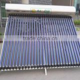 Hot sell Stainless steel Vacuum Tube Pressure Solar Water Heater With heat pipe collector