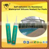 Self Adhesive Uv Resistance Waterproof Silicone Sealant For Pools