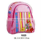 2013 kids school bag with side pocket