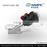 Practical special oem three way brass angle stop valve