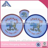 promotional foldable hand fan with plastic handle