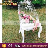 modern wedding acrylic hotel dining chair ,banquet chair for sale made in china