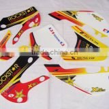 KLX110 fashion motorcycle tank stickers design