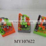 Marble Run Ball Maze Game with lights&music run marble block set marble game