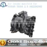 Brand New Air intake manifold for NISSAN TEANA 2.5 1022292S02 with high quality and most competitive price.