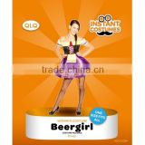 Hot Sexy German Beer girl costume Halloween Beer Woman costume Fancy Dress costume for Carnival Party