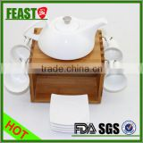 2015 New Customized Design Wholesale Grace Tea Ware Hot sell white ceramic grace tea ware Top porcelain grace tea ware