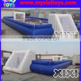 XIXI inflatable babyfoot,inflatable human table field,inflatable foosball field