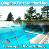 winter automatic swimming pool cover