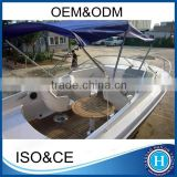 Sailing yacht china fiberglass fishing boat for sale
