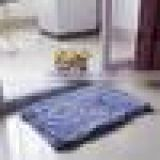 Rectangle-shaped Water Absorbent Non-slip Soft Microfiber Chenille Floor Rug Mat Bath Mat Carpet