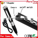 2015 World New Mini pen camera New Full HD Hidden Pen Camera DVR Audio Video Mini Camera Recorder 1280*960
