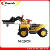 capable toys children car remote control truck engineering bulldozing construction RC dump truck toy for sale