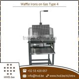 Newly Designed Waffle Maker Machine Running on Gas Available at Market Rate