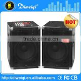 "2.0 Professioal 15"" sd speaker with MIXER microphone/ DJ sound box with USB/SD socket"