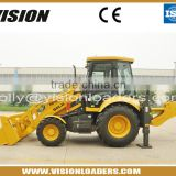 Mini tractor wheel loader for sale , with reinforced excavating boom                                                                         Quality Choice