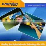 Capacitive transparent multi touch film foil for folding computer monitor