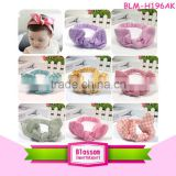 Top Quality Boutique Kids Baby Girls Printed Kids Plaid Hairband Ribbon Knot Rabbit Headwraps Solid Color Baby Boys Headbands