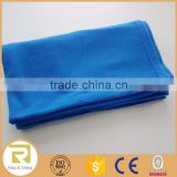 Wholesale 100% Polyester polar fleece throw blanket