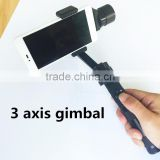 3-axis Handheld Smartphone Brushless Stabilizer Gimbal for iPhone 5/ 5s/ 6 /6 Plus, Galaxy Note