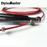 dynomaster Crossfit Cheap Adjustable Skipping Rope Cable Wire Speed Rope Handle Speed Jump Rope With Bearing                                                                         Quality Choice                                                     Most Po
