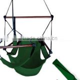 Patio Tree Green Deluxe Air Hammock Hanging Sky Swing Chair Outdoor Porch Lounge