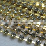 MC chaton cup chain,glass stone cup chain