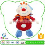 Newest Hot Selling Low Price Soft Red Nose Clown Doll