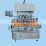 2014 newest many heads automatic bottle oliver oil detergent liquid filling production line