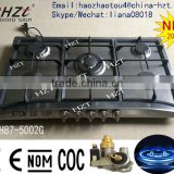 33/30/24 inch Series stainless steel cooktop 5 Burner Gas cooker ,Built in gas hob ,portable natural gas stove