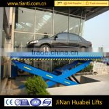 Customized hydraulic fixed scissor lift table for lifting cargo stationary lift for parking house