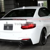 F22 2 SERIES 220i 218i M235i P STYLE CARBON FIBRE REAR LOWER REAR SPOILER FOR BMW 2 SERIES