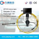 waterproof sewer inspection camera/JIUTAI drain pipe inspection camera sonde drain camera