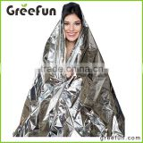 Amazon Top Seller best Selling Picnic Blanket Waterproof , Heating Reflect Blanket , Solar Aluminum Foil Emergency Mylar Blanket
