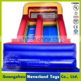 Best Quality NEVERLAND TOYS Blue Red Inflatable Slide Funny Inflatable Bouncer Slide Giant Inflatable Slide For Sale