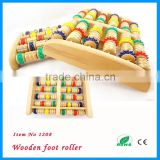 new color wood shiatsu foot roller massager                                                                         Quality Choice