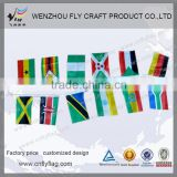 New design polyester sublimation or digital print flag banner fabric bunting flag