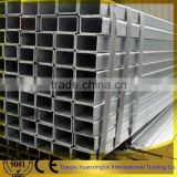 thick wall hot dipped galvanized rectangular hollow section iron pipe / tube with competitive price