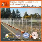 ISO9001 Australia standard factory galvanized tem fence, removable temporary construction fence,portable fence panel