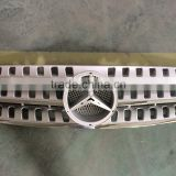 Silver Front Grille Grills Assembly For Mercedes-Benz W163 ML320 ML430 ML55 AMG