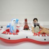 Durable Pool Floating Inflatable Adult River White water Rafting Ring Tube